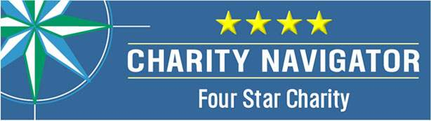 Charity Navigator Logo. Opens new window.